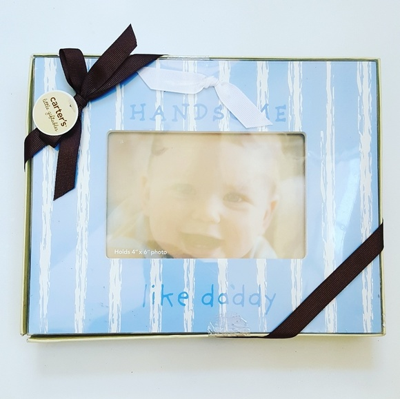 """PERFECT BOXED GIFT! BABY PHOTO FRAME 6/""""x4/"""" AVAILABLE IN BLUE OR PINK"""